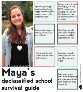 Maya Arber's Declassified School Survival Guide