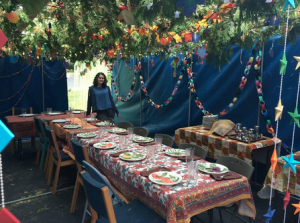 Sukkot around CESJDS