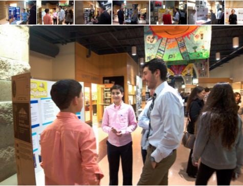 Eighth-graders present at annual Weinberg Family Science Fair