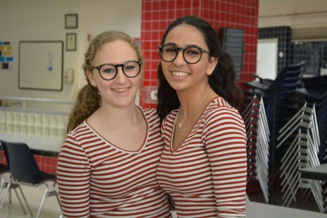 The Upper School suits up for Purim