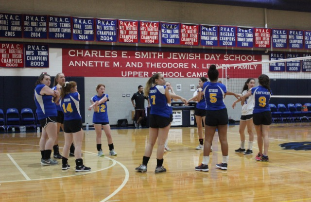 The Girls Varsity Volleyball Senior Night in pictures