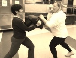 Moms and alumni kick it with Krav Maga