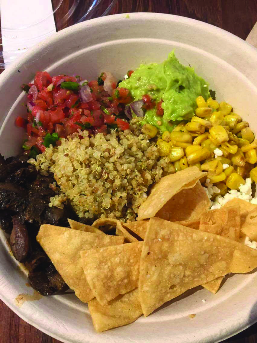 The Mexican Bowl at Eatsa makes for a tasty and well-priced lunch.