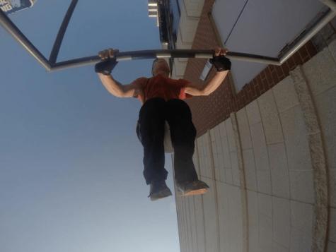Sophomore Jordan Teitelbaum Finds Freedom in Parkour