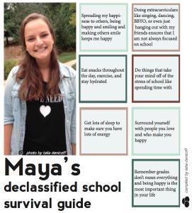 Maya Arber's Declassified School Survival Guide