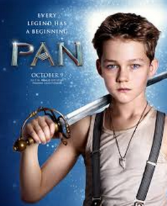 Movie poster of upcoming film Pan.