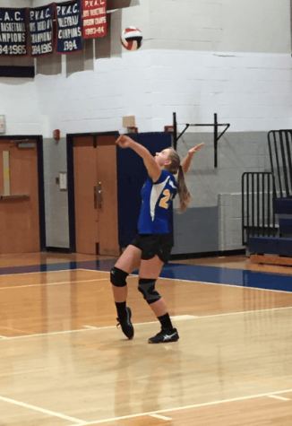 Girls Varsity Volleyball Defeated Oakcrest In Three Consecutive Sets
