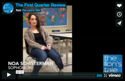 The First Quarter Review