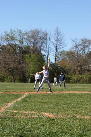 In the ballpark: seventh-graders on varsity softball