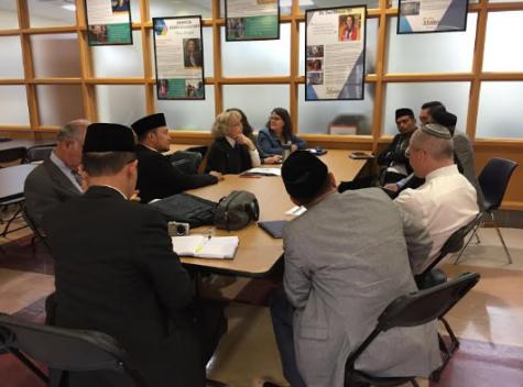 Indonesian Muslims visit through U.S. State Department