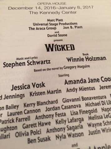 "Musical Review: ""Wicked"""