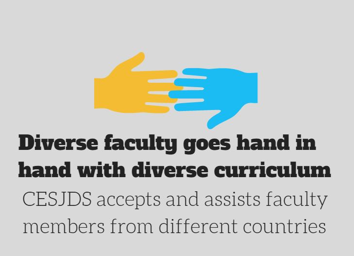 Diverse faculty goes hand in hand with diverse curriculum