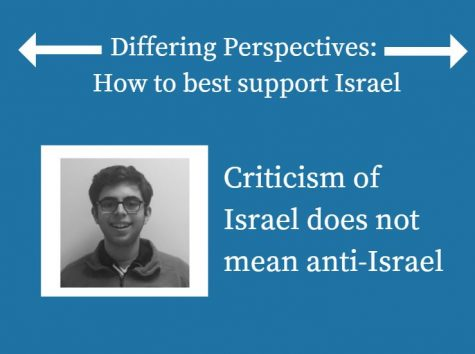 Criticism of Israel does not mean anti-Israel