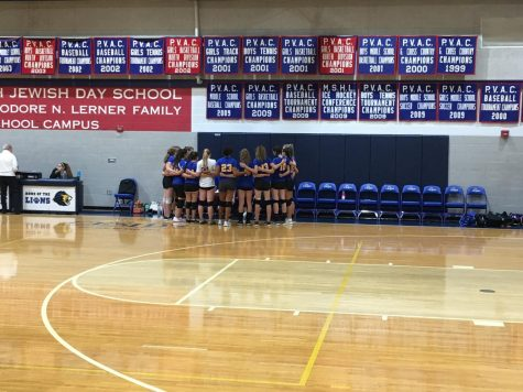 Lions overpower Mustangs in three-straight set victory