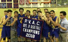 JV boys basketball clutches PVAC championship
