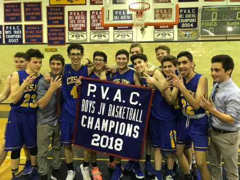 JV boys basketball clutches PVAC championship
