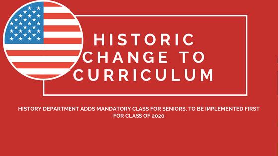 Historic change to curriculum