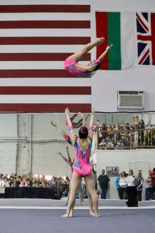 Bend it like Berger: Freshman competes at international acrobatic competitions around the world