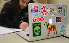 Self-expression sticks to laptops