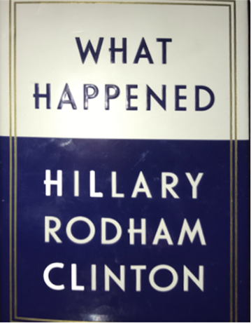 "Clinton tells all in ""What Happened"""