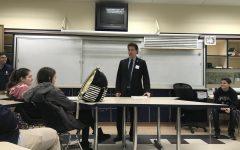 Congressman Jamie Raskin presents to progressive club