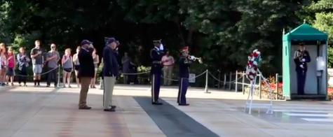 Students visit Arlington National Cemetery in commemoration of Memorial Day