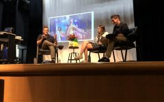 Broadway star Ethan Slater and JDS alum speaks to students