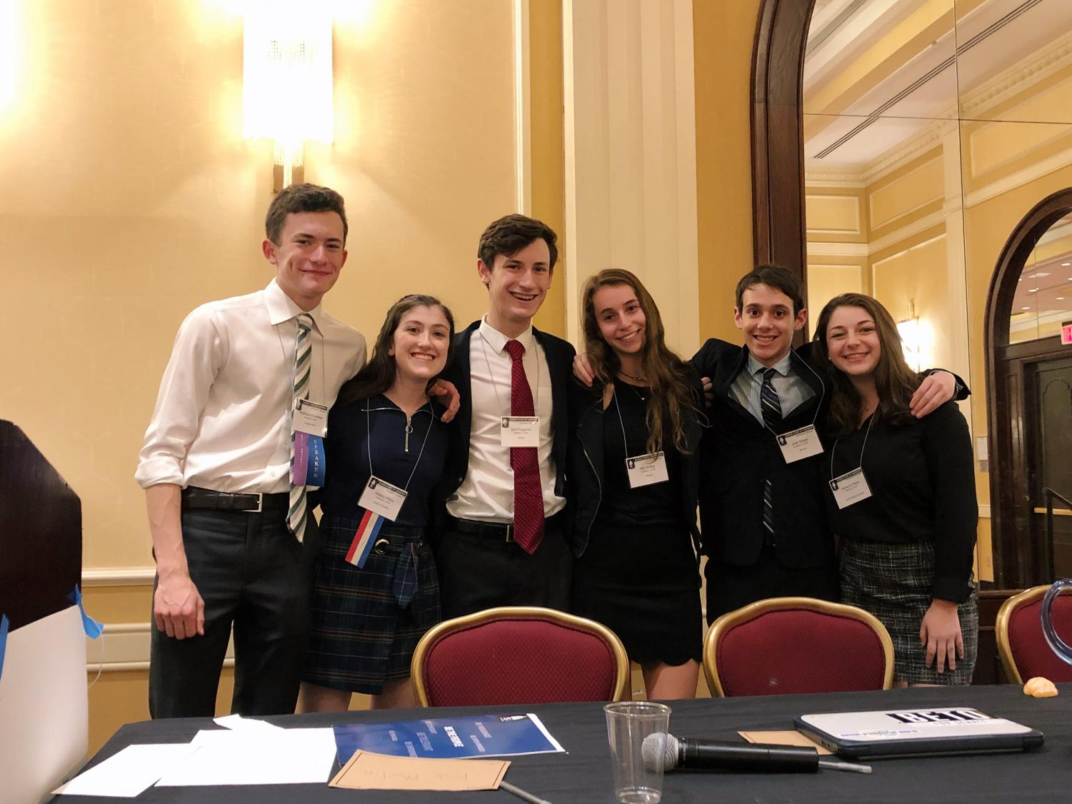Junior Matthew Weiseltier was one of 53 CESJDS students to attend the convention. He is also a part of the school's chapter leadership, as a member of the regional cabinet.
