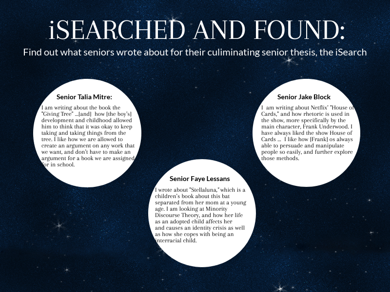 Crafting the ISearch: three senior perspectives