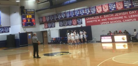 Girls varsity basketball pulls out a win over Sandy Springs by just one point