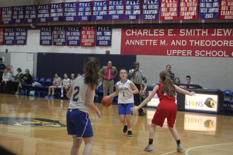Lions face hard defeat: Waldorf Knights beat girls middle school basketball