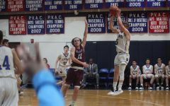 Last second buzzer-beater shot wins it for Lions playing St. Anselm's