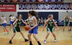 Middle school girls take command of the court