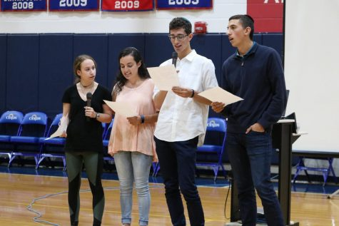 Student council holds charity auction for recent hurricane victims