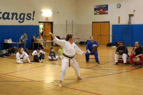 CESJDS English teacher takes on unique hobby: karate