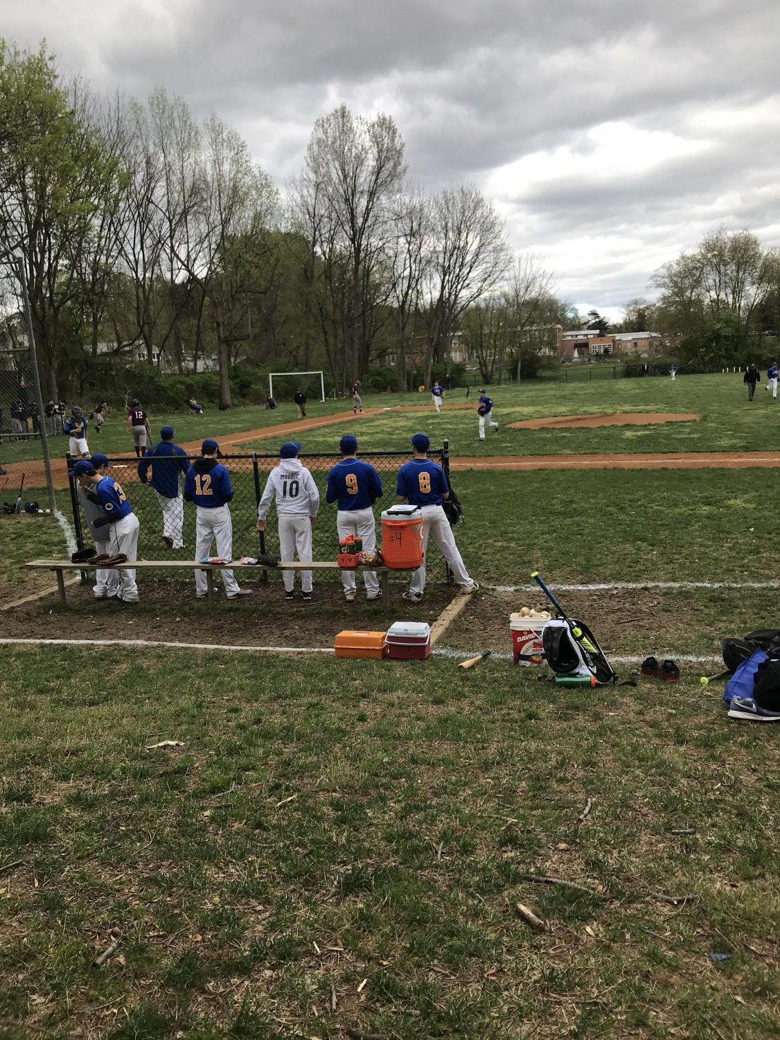 The boys varsity baseball team defeated the Burke Bengal Tigers this past Monday, 12-0.