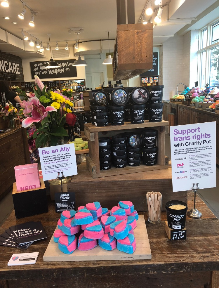 In addition to supporting anti-Israel notions, Lush works with organizations that advocate for LGBT rights and for fighting against animal cruelty.