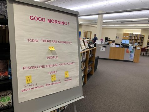 "Library introduces ""Poem In Your Pocket Game"""