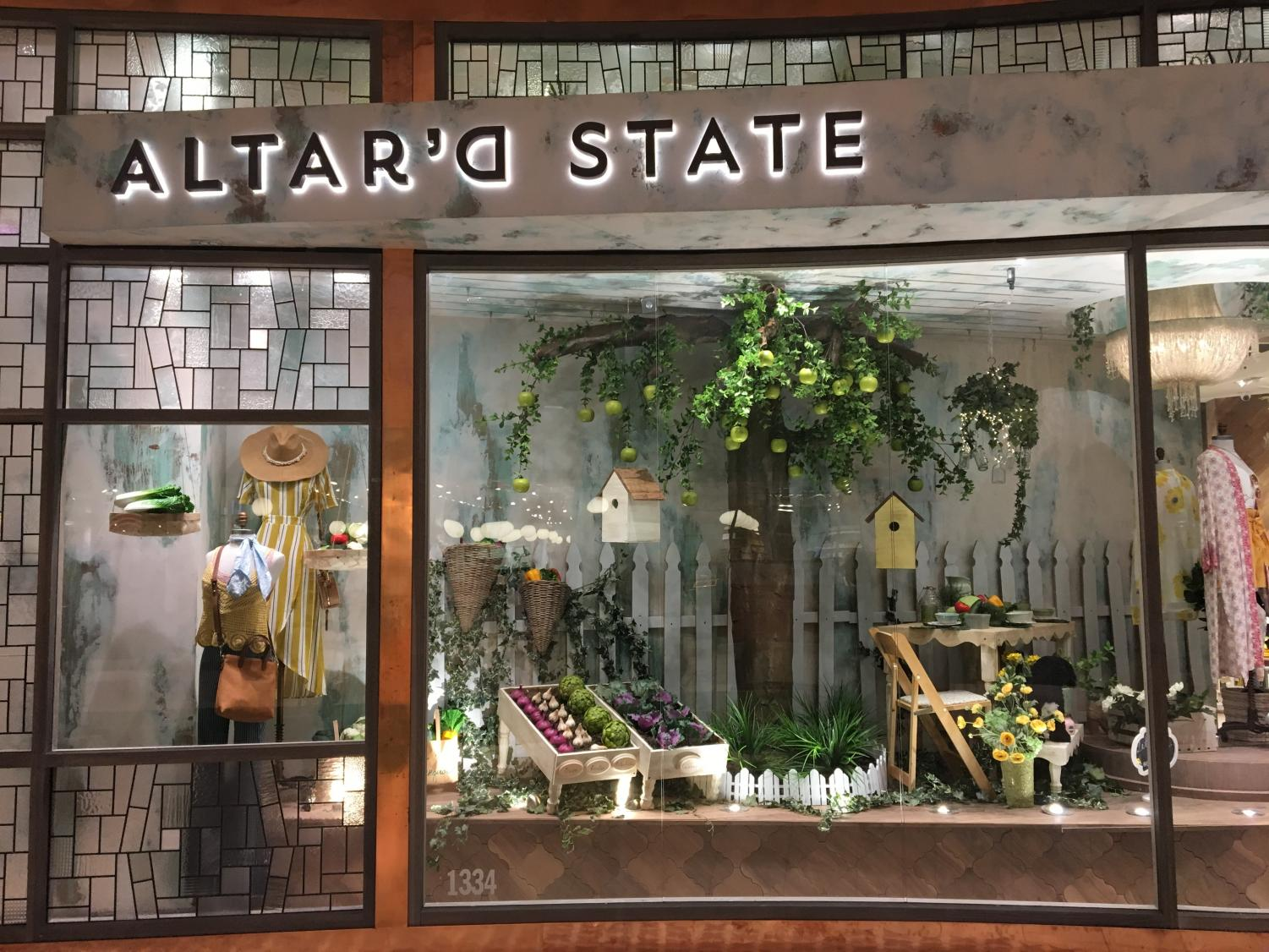 Altar'd State is located on the first floor of the Westfield Montgomery Mall in North Bethesda. The store features boho-chic clothing that has attracted many CESJDS students.
