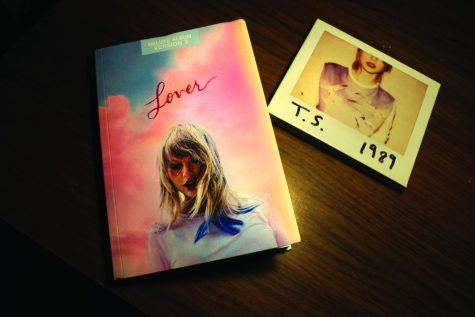"Taylor Swift releases extras with the deluxe editions of her albums. The deluxe edition of the album ""1989"" included Polaroids while ""Lover"" included diary entries."