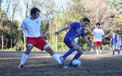 Spirited boys varsity soccer team loses final home game on senior night to Waldorf