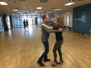 Dr. Worden, English teacher and — ballroom dancer