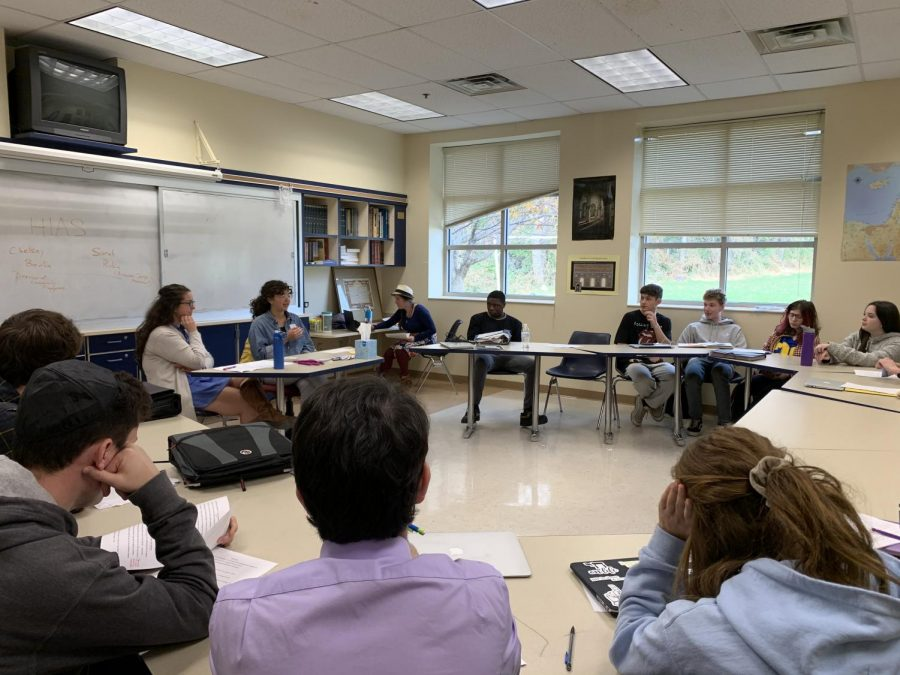 Jewish History teacher and department chair Aaron Bregman has invited a number of guest speakers to enhance the interactive aspect of the Contemporary American Jewish Society course.