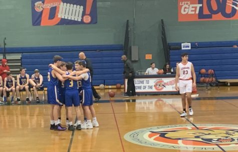 Boys junior varsity team falls to rival Berman in first game of season