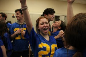 Seniors sing, dance and film on their final day
