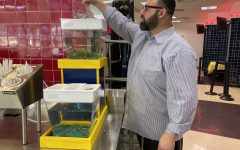 Aquaponics tank brings STEM into the cafeteria