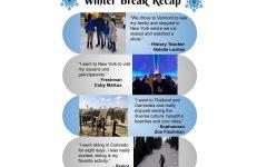 Winter Break Recap