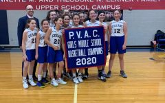 Girls middle school team triumphs in championship game against Sandy Spring