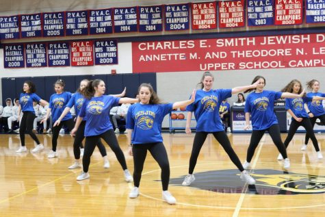 Since the seniors graduated, sophomores have taken a more central role on the high school dance team.