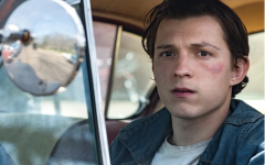 Main character Arvin Russel, portrayed by Tom Holland seen in the film.
